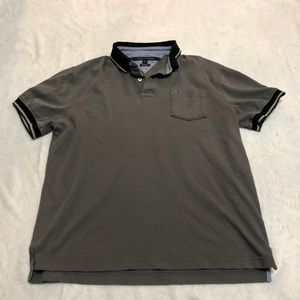 Men's Tommy Hilfiger Grey Polo
